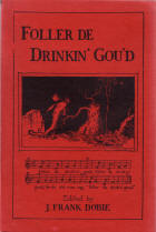 Follow the Drinking Gourd, Texas Folklore Society, 1928